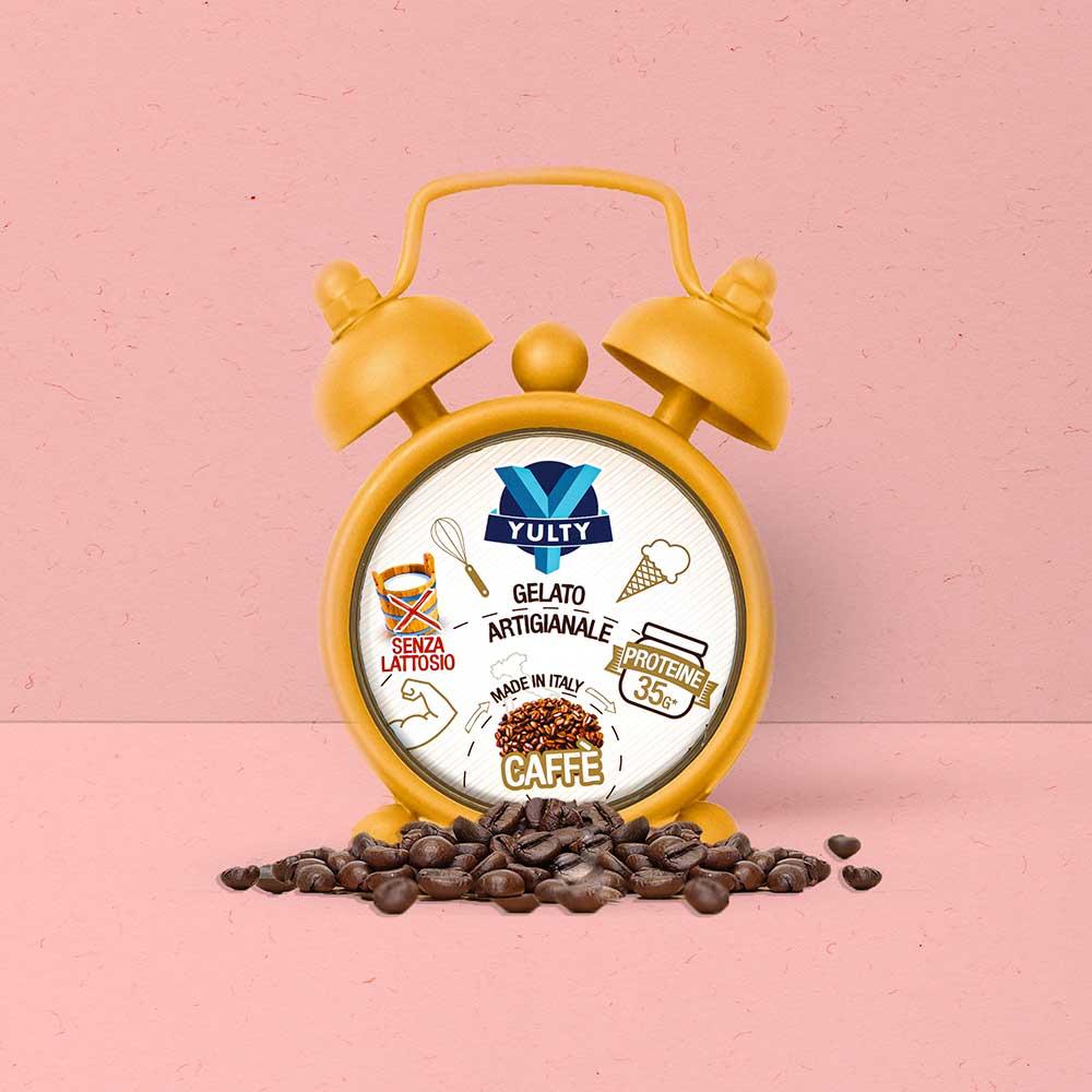 Yulty gelato gusto caffè sveglia